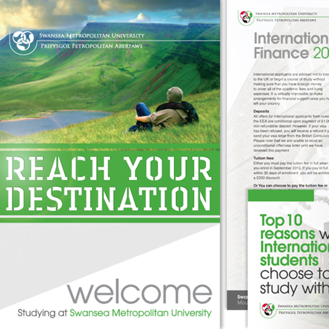 University and Student Flyer Design