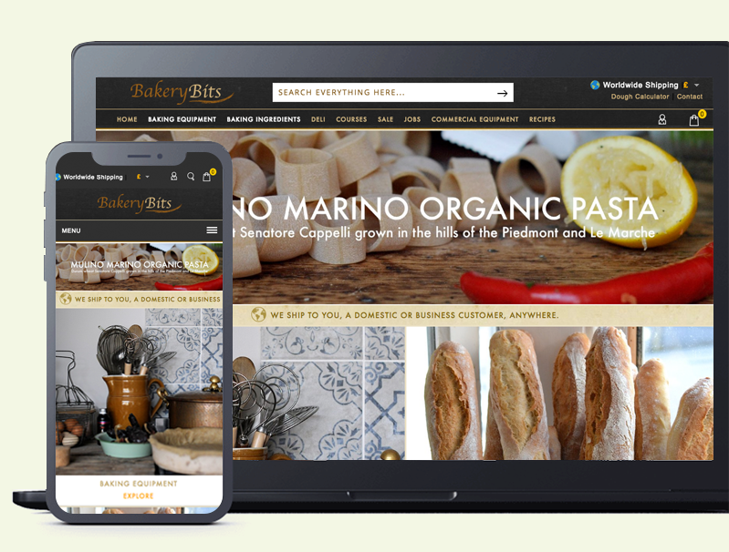 Web Design - BakeryBits