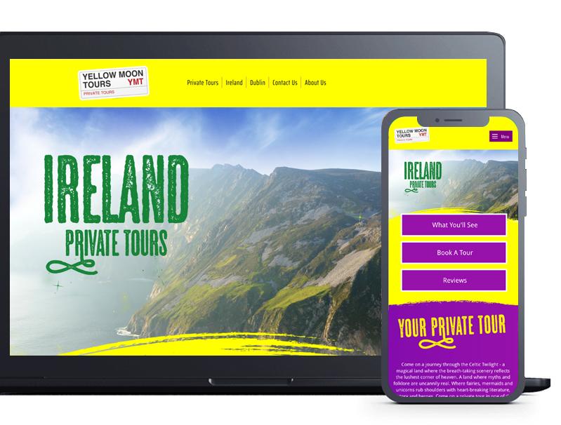 Web Design Example - Cardiff