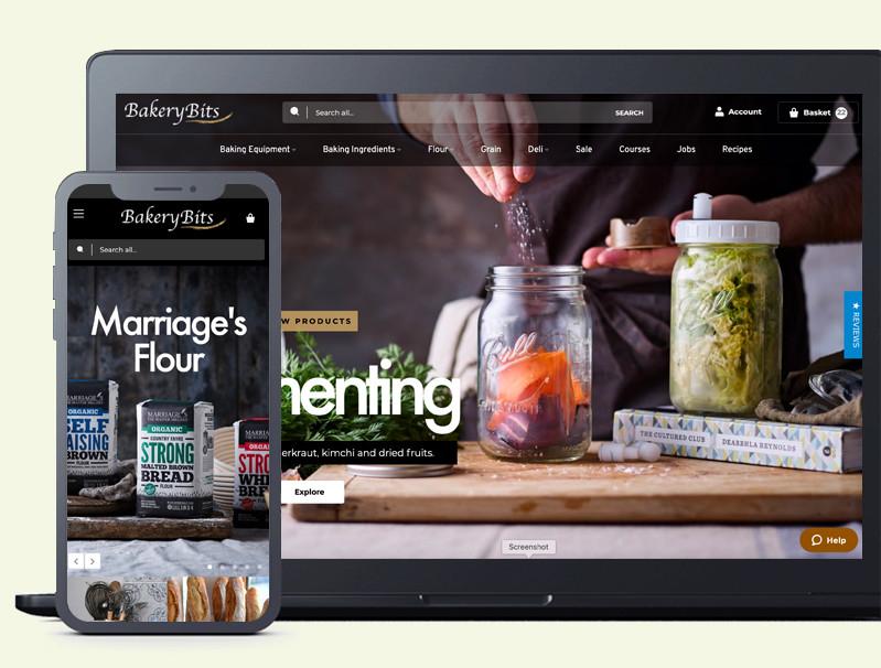 Web Design - BakeryBits