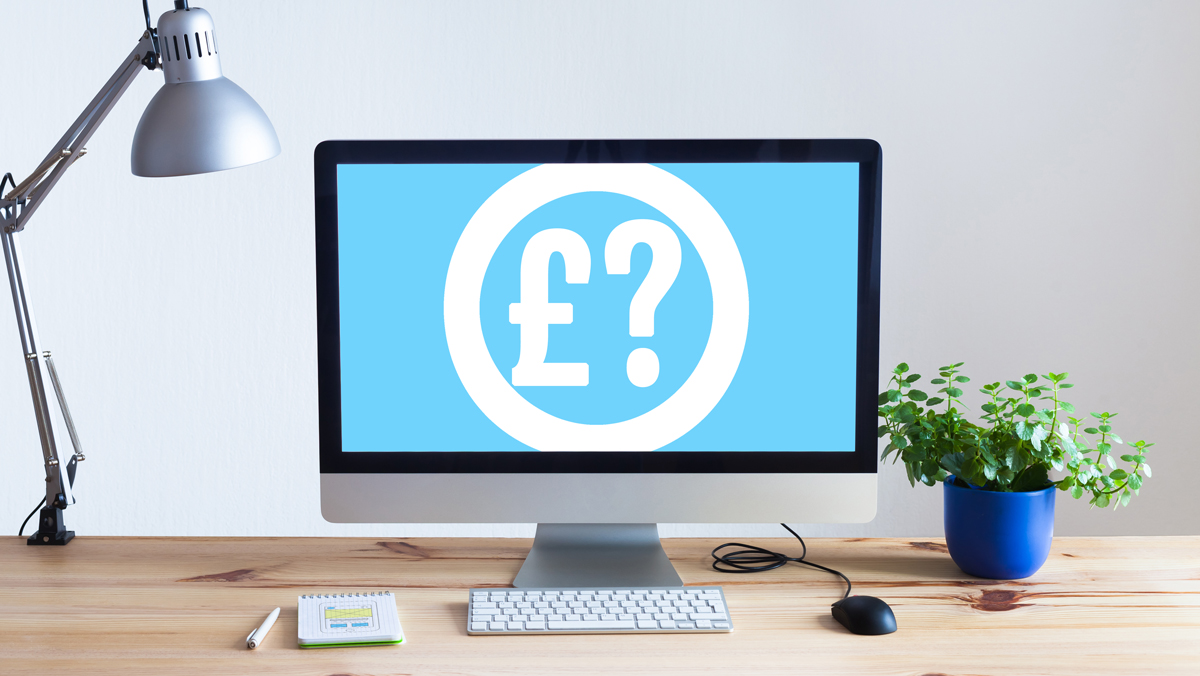 How much does a website cost? - graphic